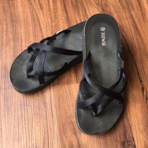 Teva Wedge Flip Flops